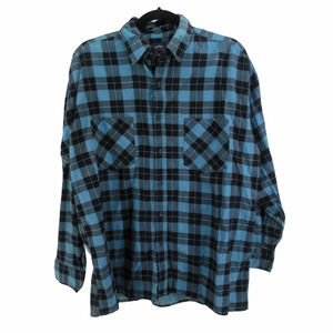 VTG 90s Saugatuck Goods Button Up Flannel Shirt